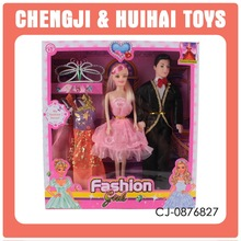 Man and wife 11.5 inch fashion doll guys and dolls