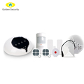 Android/IOS APP control smart home WIFI/GSM/GPRS alarm system with 100 wireless&8 wired defense zones,support CID/SIA protocol
