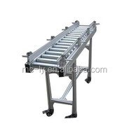 Assembly line no power roller conveyor