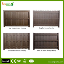 Cheap Wood Plastic Composite Wpc Fence Panels