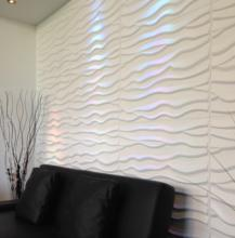 indoor used 3d wall covering