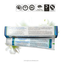 medicated cheap vegan toothpaste free SLS teeth whitening toothpaste for dental caries