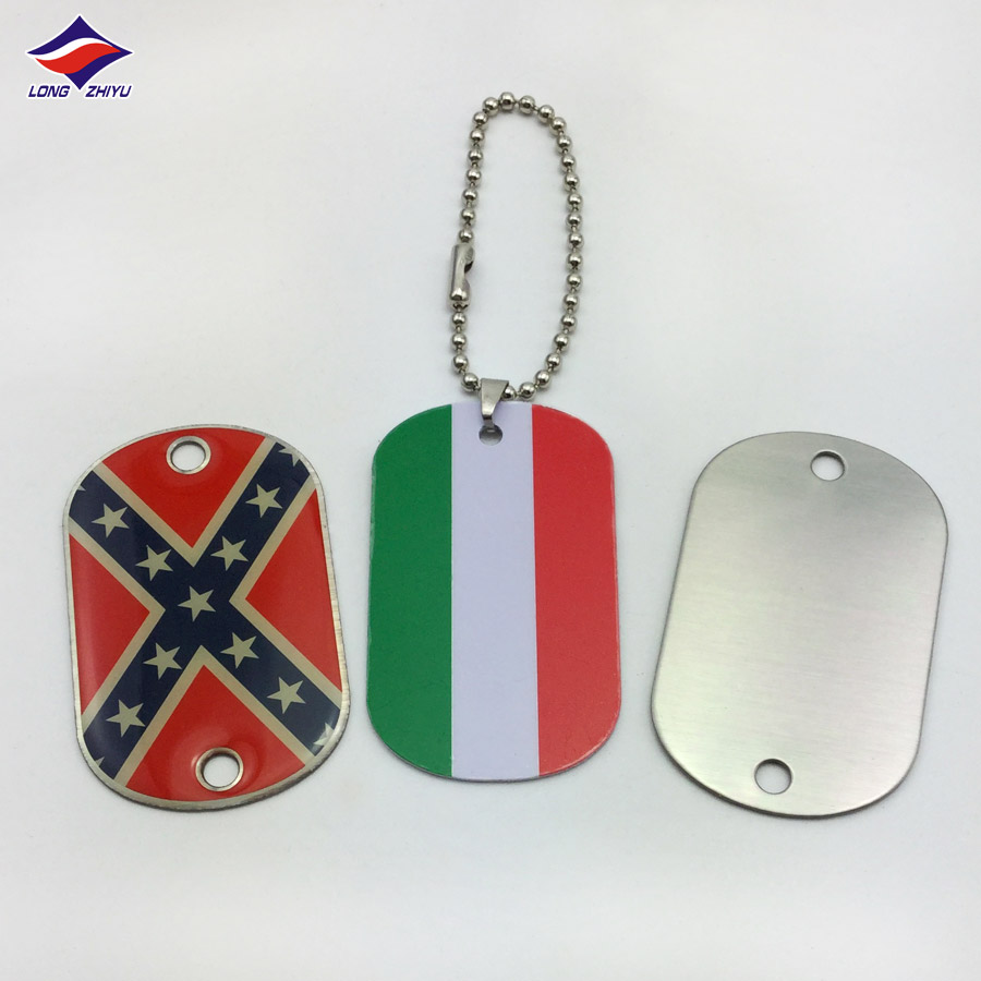 Hot sales bulk price country symbol factory making dog tag