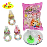 Bag Packing 2 In 1 Sweet Nipple Ring Hard Toy Candy