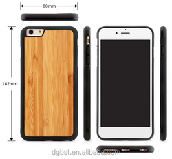 mobile phone accessories Real wood cover for iphone 6s