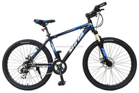 "bicycle 26"" wheels 6061 aluminum alloy frame 21 speed mountain bike"
