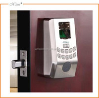 Cheap biometric fingerprint door lock without handle keypad fingerprint access control system