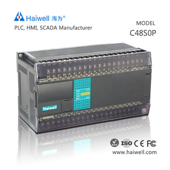 Original Chinese best and cheap Haiwell C48S0P with 48pionts cheap PLC controller for servo motor