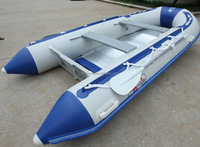 2015 CE certificate inflatable rubber boat korea 0.9-1.2mm pvc