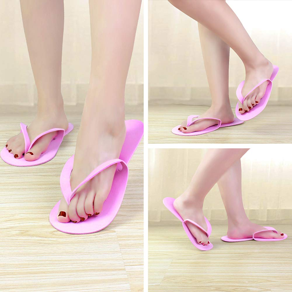 Hot sell white disposable wholesale flip flops ,pedicure slippers for salon