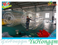 Customized Inflatable Ball Water Game For Kids Water Rolling Balls In Swimming Pool