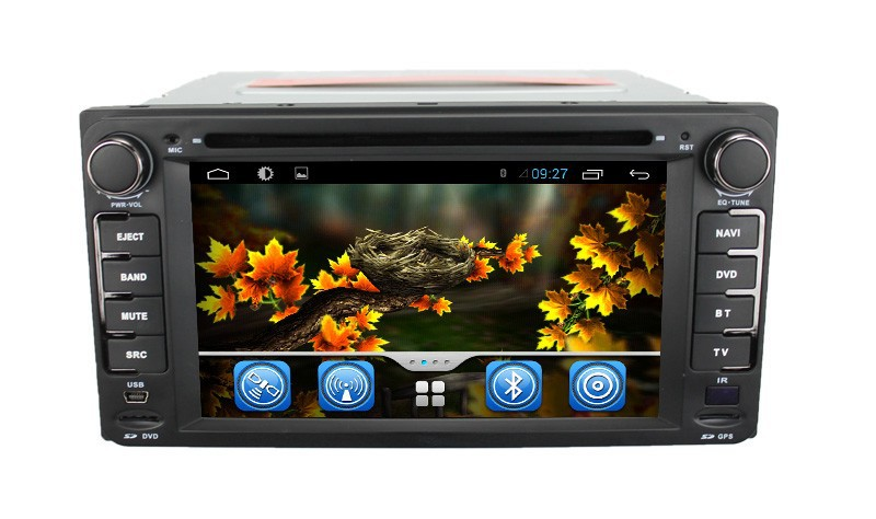 Wholesale Capacitive Screen 3G Wifi for Toyota RunX 2003-2006 pure Android 4.2.2 Car Dvd with Gps navigation