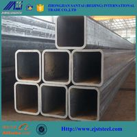 schedule 40 square and rectangular galvanized steel pipe