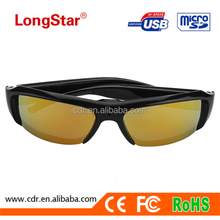 New Arrival Factory Supply 1080P Motion Detection Fashionable Sunglasses Hidden Video Camera YM-G085