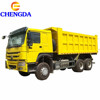 Manual gearbox left hand driving HOWO dump truck price