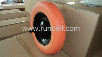 PU foam wheel 14x3.50-8