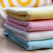 GOTS certified organic cotton knited fabric for baby clothing