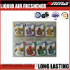 liquid hanging designer fragrance car air freshener