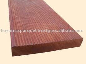 Merbau Decking anti slip