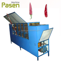 dry and fresh pepper stem cutting machine / chili stem removal machine / chili stem cutting machine