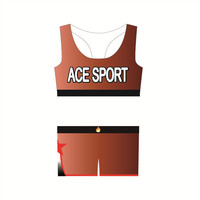 Wholesale cheerleading uniforms all star practice wear / dye sublimated bra and shorts
