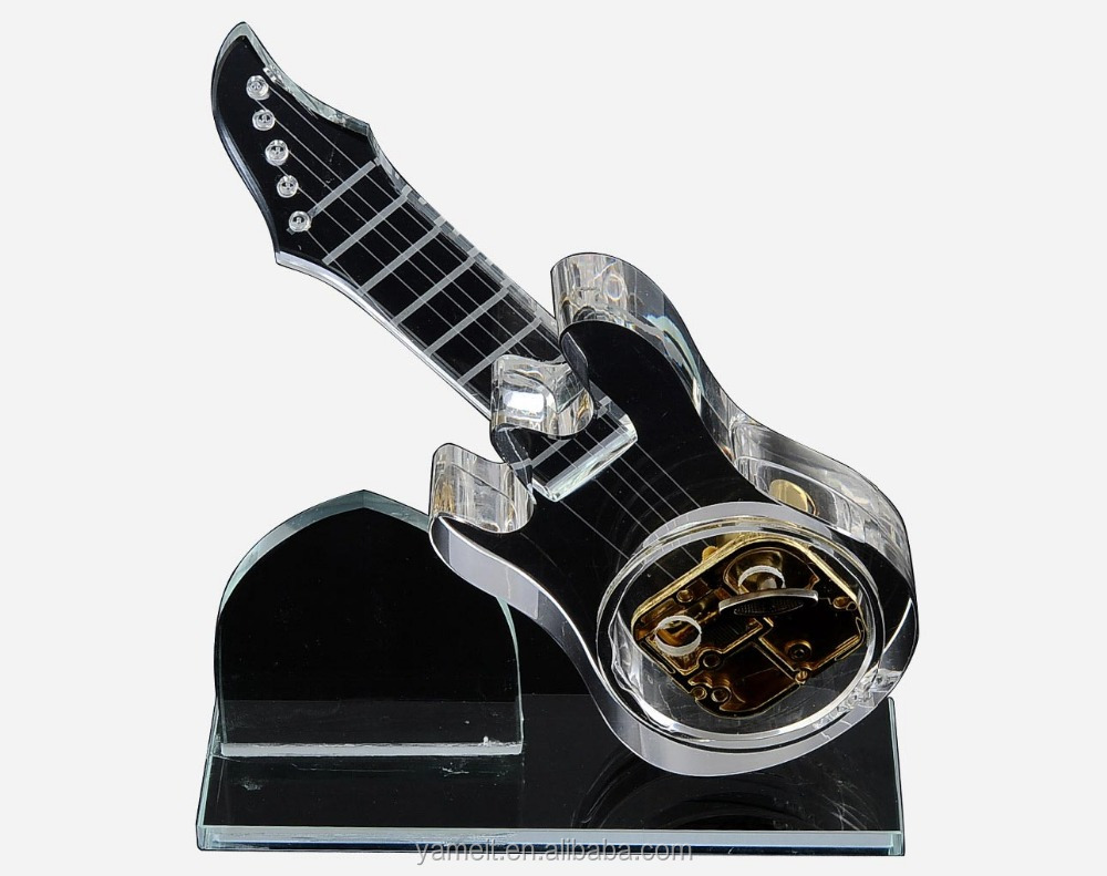 transparent thin body guitar