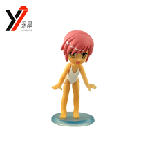 Custom Plastic Toy Manufacturer Cute 3D Japan Cartoon Sexy Girl