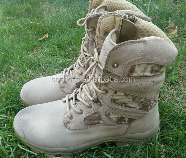 supply Camouflage combat boots Anti-piercing military boots non slip jungle boots pre order