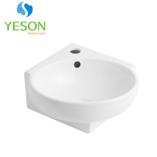 RS1134L Small wall hung ceramic hand corner wash basins