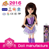 Plastic 2016 Modern Dolls for Children With Beautiful Dress