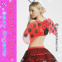 Red cute costume wings sexy girl animal costume