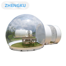Bubble igloo sphere camping dome giant PVC inflatable transparent tent