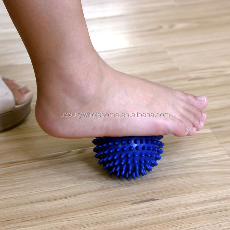 H0T02 wholesale cheap spiky massage ball,power ball,rubber massage ball
