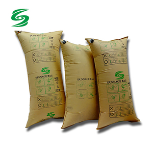 Kraft Paper Dunnage Bag For Containers With AAR Approved