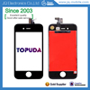Phone parts and accessories no dead pixel displaying well screen lcd for iphone 4g