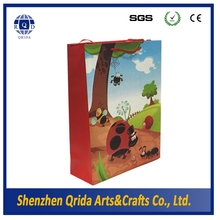 Custom high quality OEM handmade brand logo gift paper bag