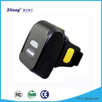 Mini ZJ-7510 Portable 1D LASER Wireless Bluetooth Finger Barcode Scanner Code Reader For Android/IOS/Windows