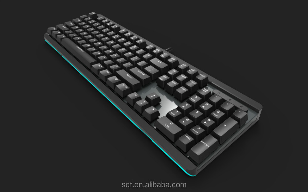 Aluminum mechanical keyboard