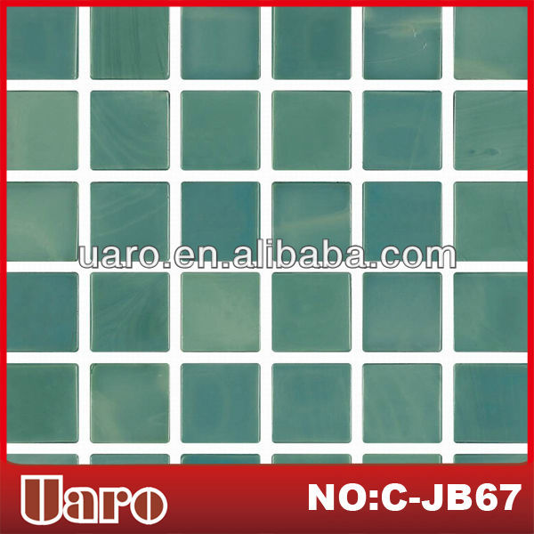 Gorgeous green decor interior flooring mosaic tile for wall decoration
