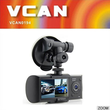 Best 2.7 inch new design dual camera 1080p car dvr video recorder with GPS , car blackbox wholesale