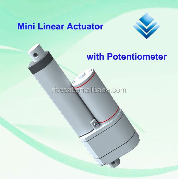 Mini linear actuator with Potentiometer RS-AP