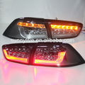 2008 -2013 Lancer Exceed LED Tail Lamp for Mitsubishi Smoke Black Color