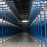 Radio shuttle racks with CE certificate pallet runner
