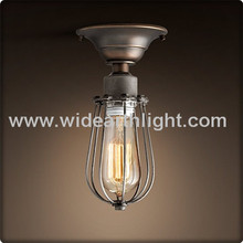 Vintage Lighting Warehouse Industrial Ceiling Ling/Lamp With Cage C70492