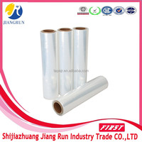 "Alibaba China 20"" x 80gauge lldpe pallet stretch wrap film"