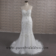 Junoesque strapless sweetheart embroidery designs for wedding dress