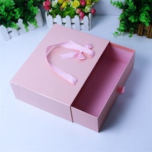 Square Paper Mache Luggage Suitcases Shape Storage Boxes Kraft Cardboard Hot Sale Packing Boxes
