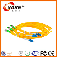 Factory G657A Single Mode Simplex 1 Core Fiber Optic Home Network Cable