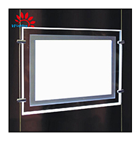 New type sell well slim LED crystal Light Box
