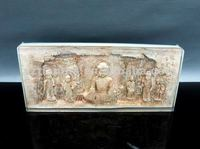 Collectible engraved india buddha ancient crafts